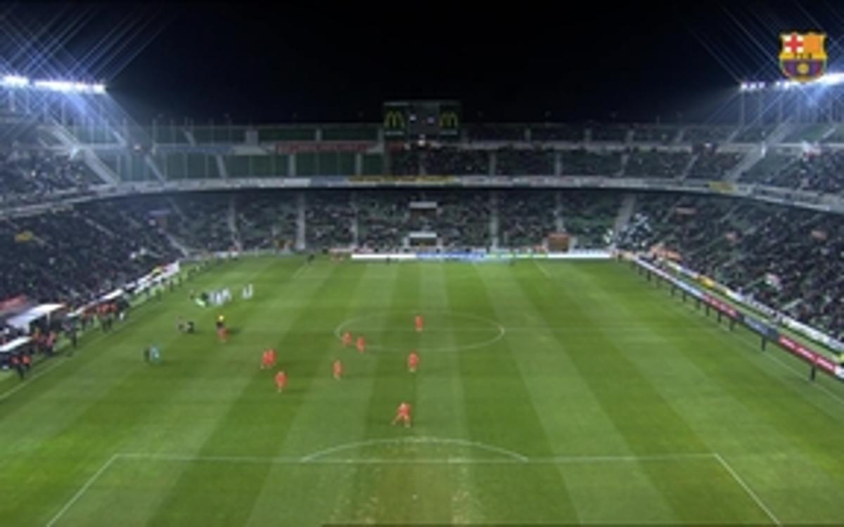 Elche 0 - FC Barcelona 4