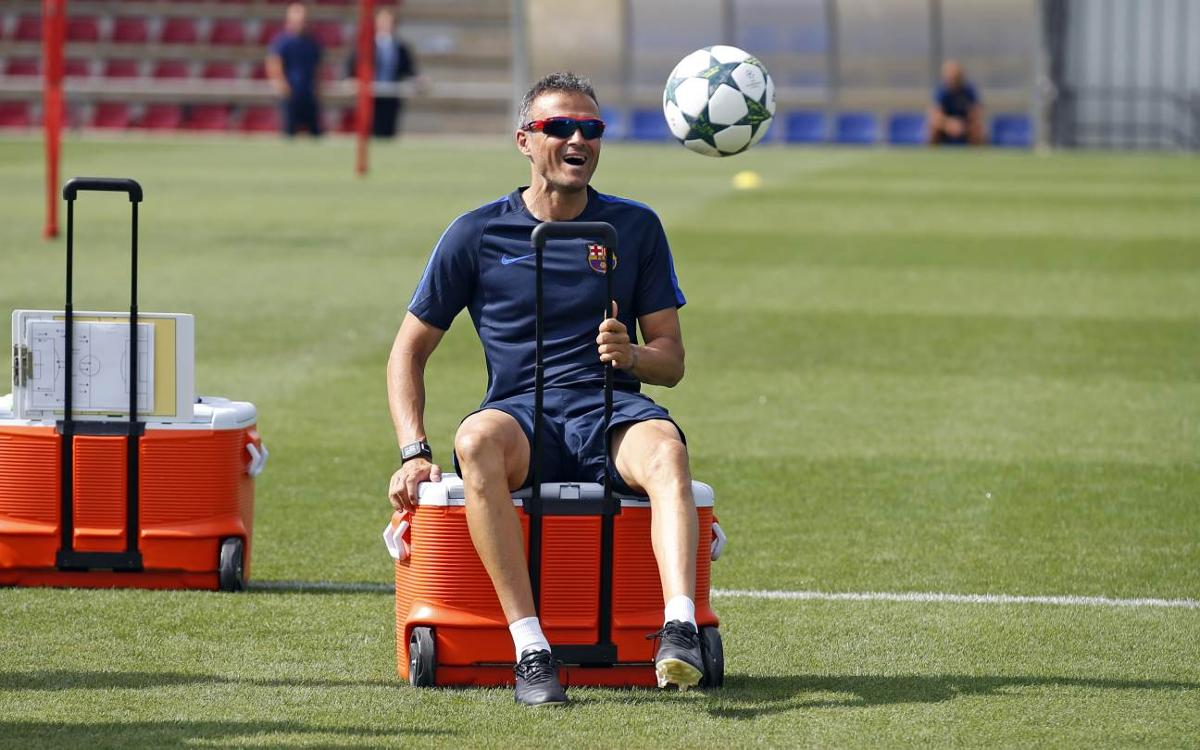 Luis Enrique expects a similar Celtic