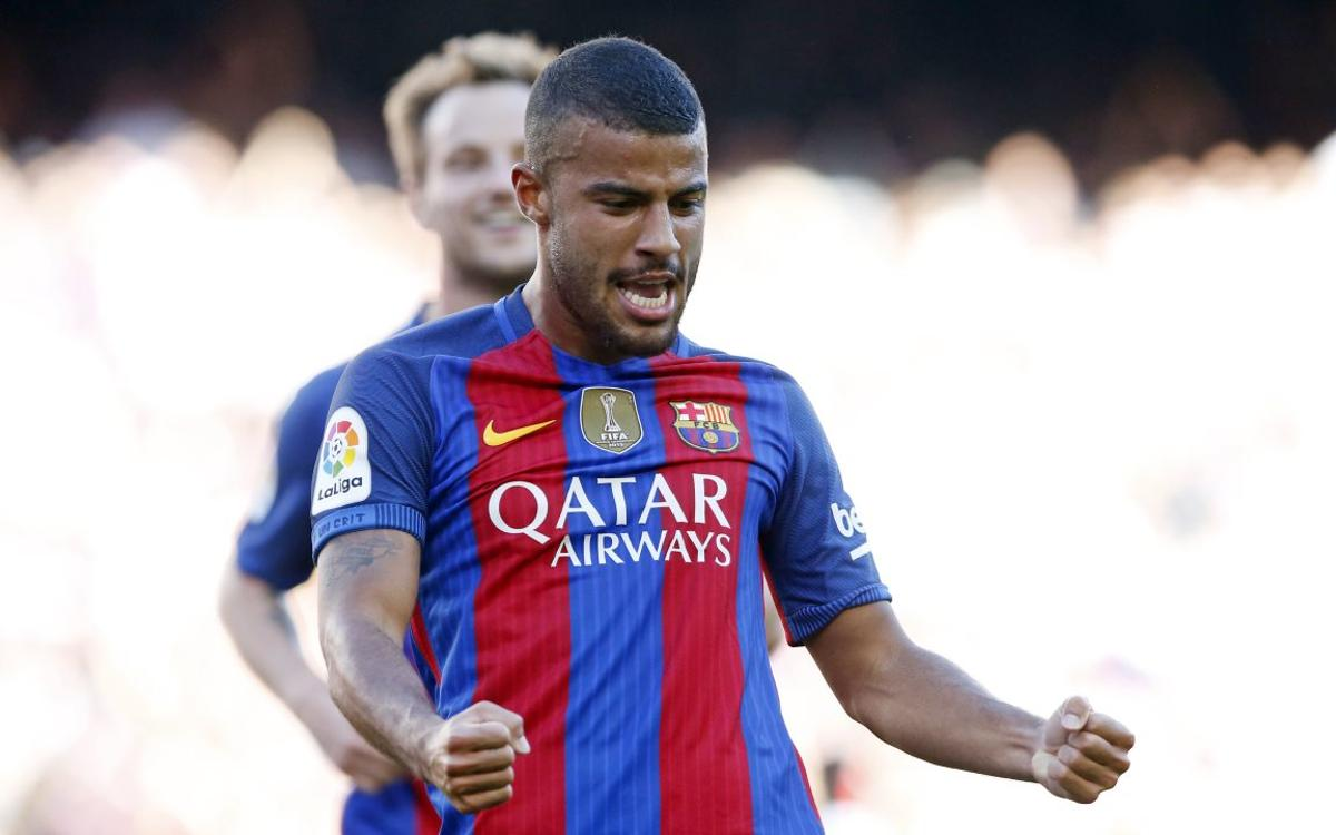 First double for Rafinha as an FC Barcelona player
