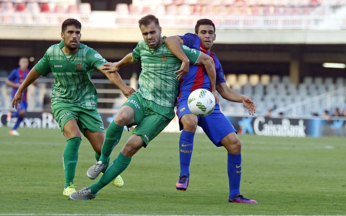 CF Gavà – Barça B: Tornar al camí de la victòria