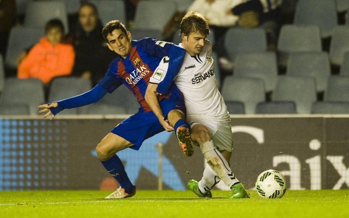 UE Llagostera – Barça B: Contra un rival potent i contra la història