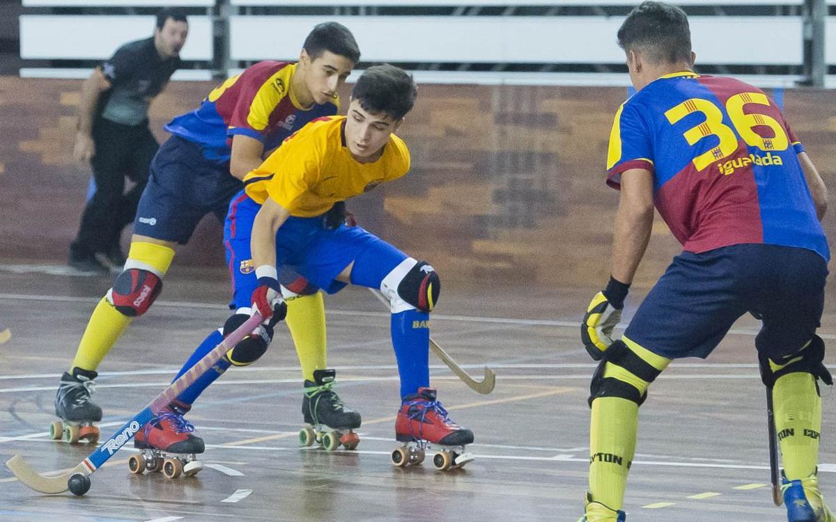 El Barça Juvenil encuentra el camino del triunfo en un fin de semana exitoso