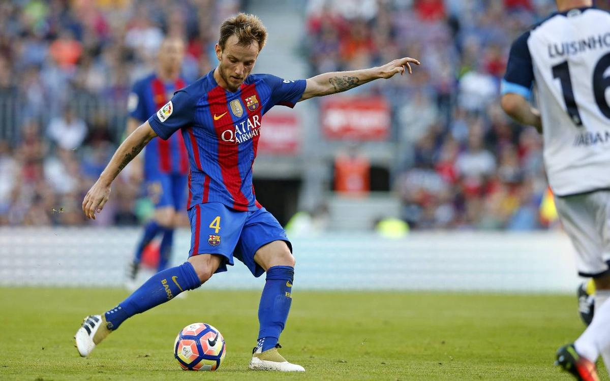 Rakitic wants to replicate complete display against Manchester City