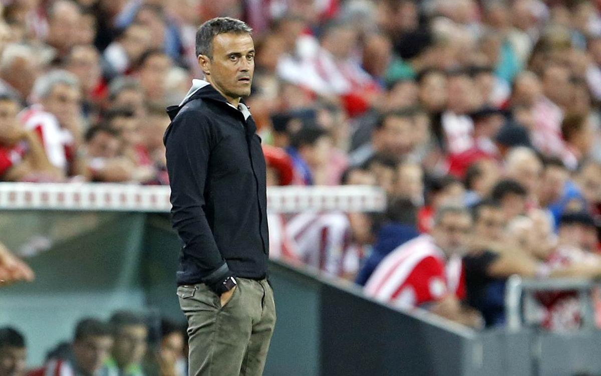 Luis Enrique pleased with 'three hard-earned points'