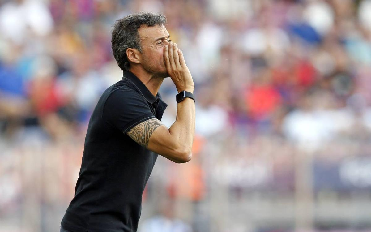 Luis Enrique: We were brave and effective