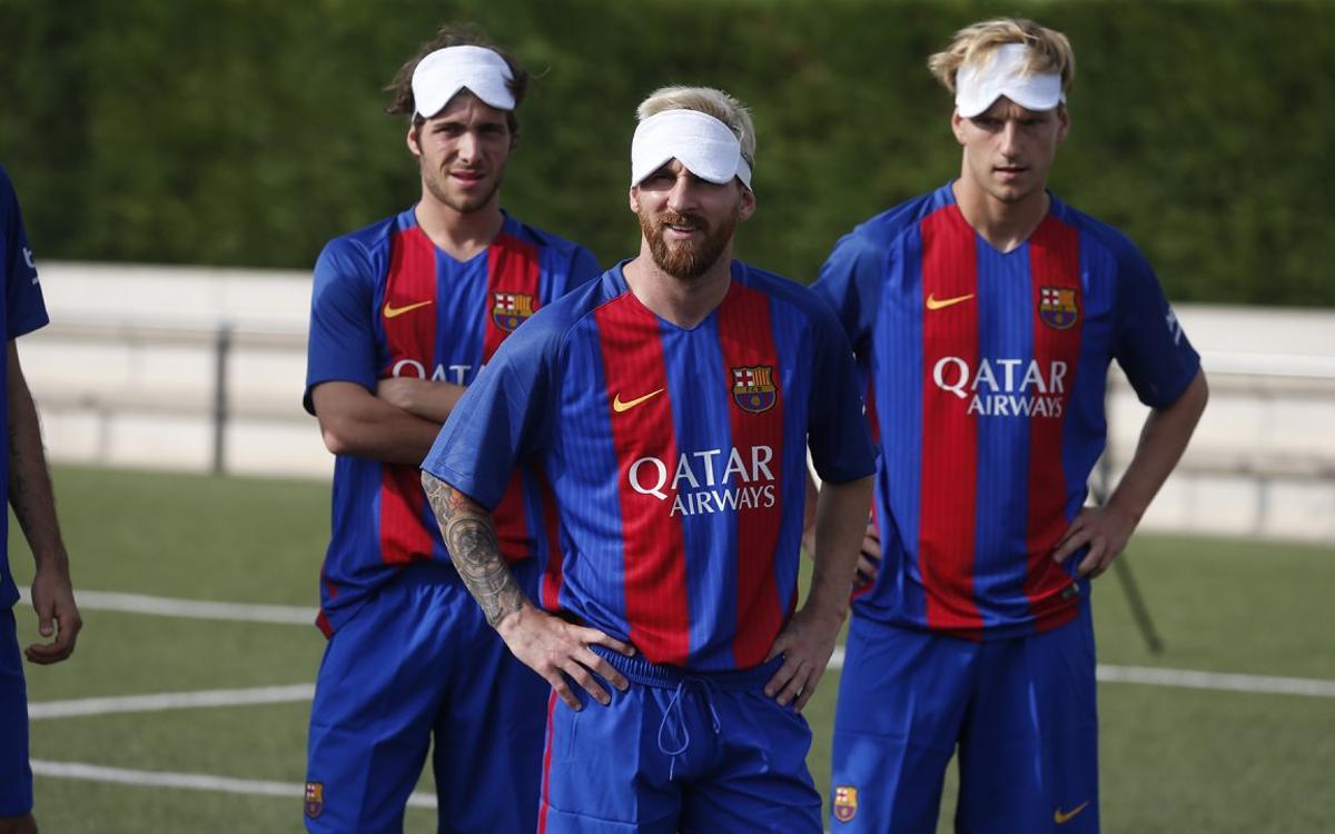 Le making-of de la séance de tirs aux buts Barça VS Sélection paralympique espagnole
