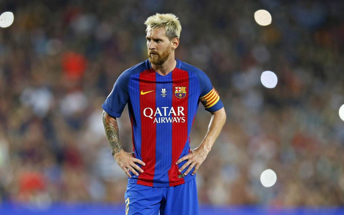 Leo Messi left hamstring trouble confirmed