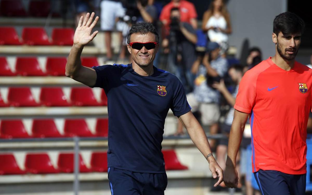 "Luis Enrique: ""Ens motiva la tercera Lliga consecutiva"""