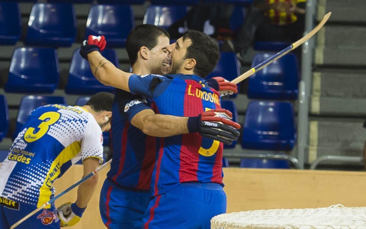 Igualada Calaf Grup v FC Barcelona Lassa: Big win to stay top (0-4)