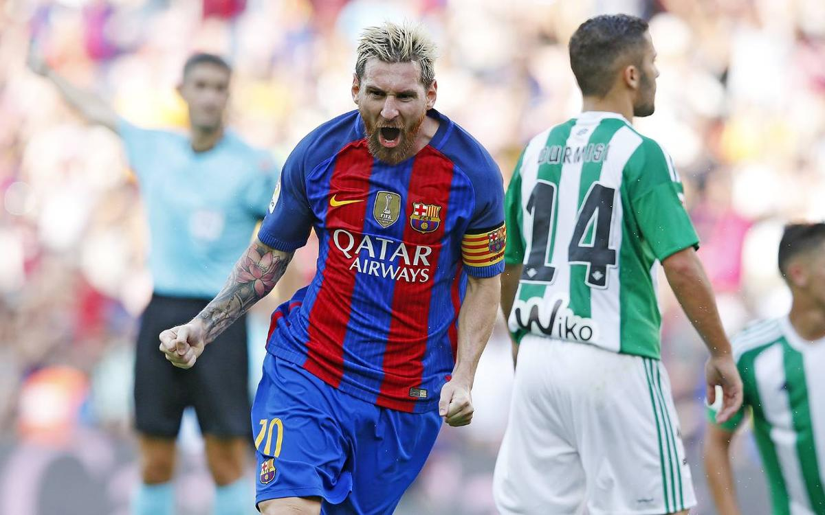 FC Barcelona v Real Betis: Back with a bang (6-2)