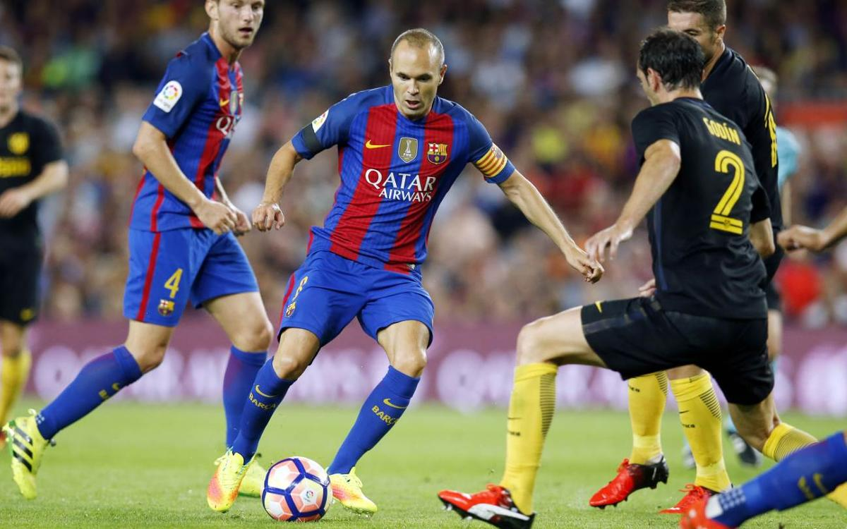 Andrés Iniesta laments dropped points