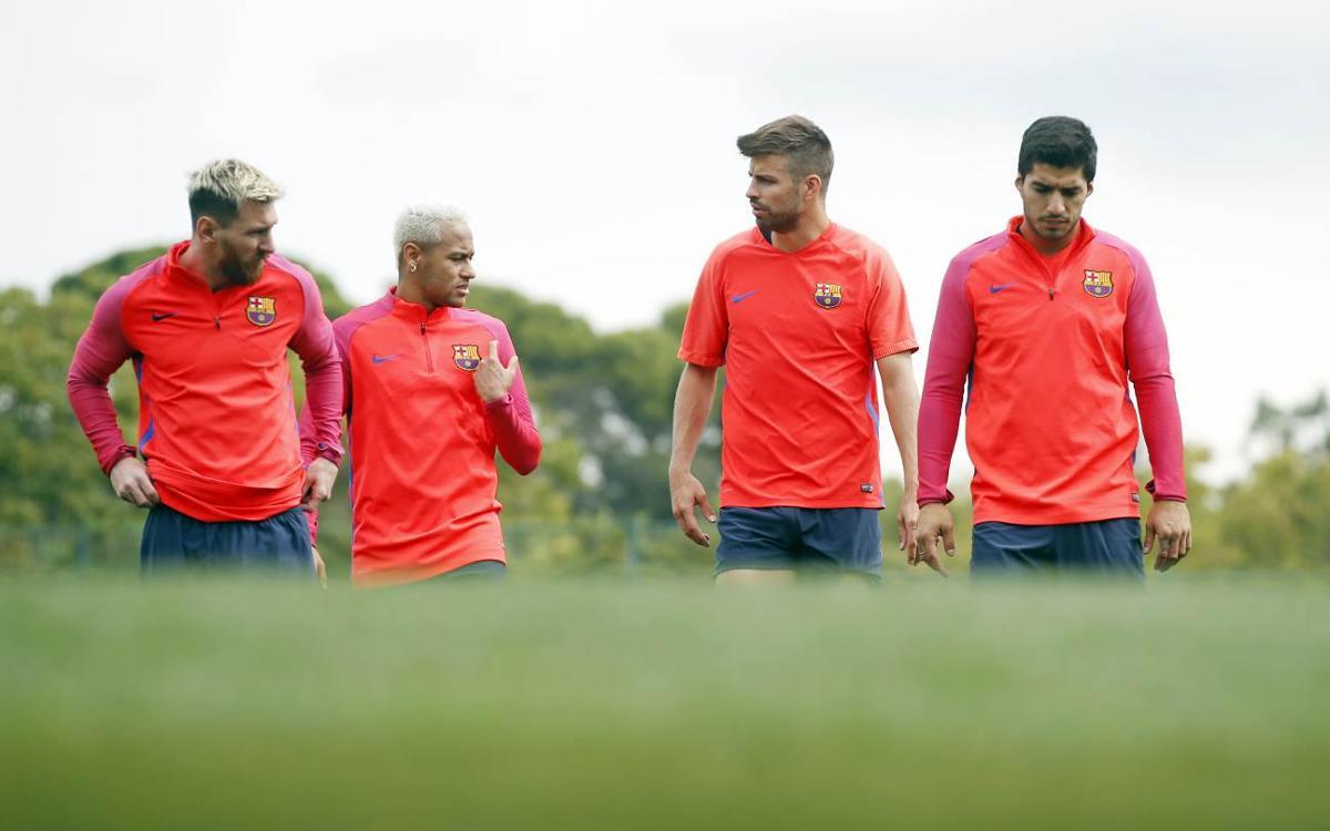 Preparados para un duelo de alto nivel contra el Atlético de Madrid