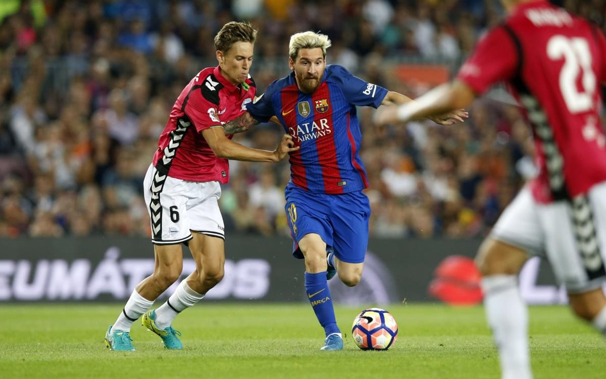 By the numbers: Messi moves up appearances list