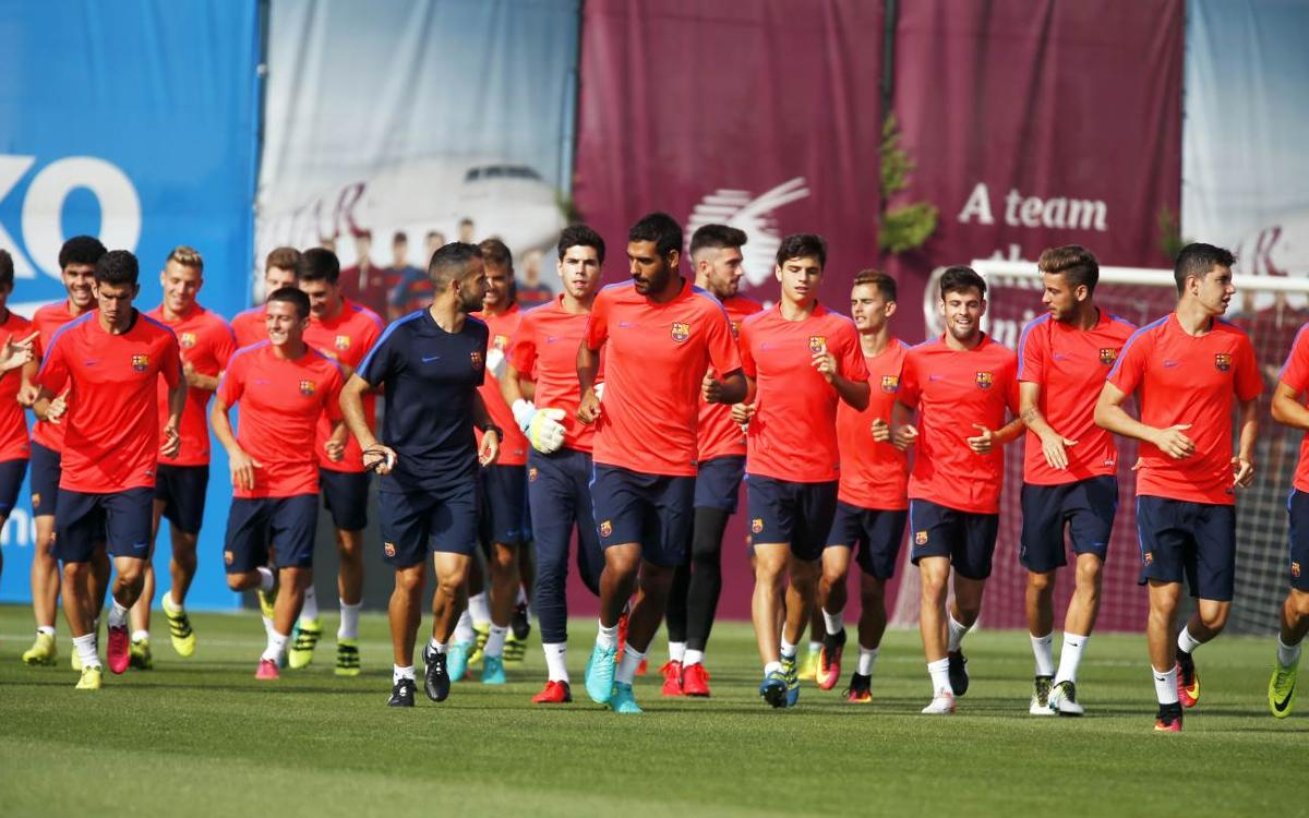 Training schedule going into Alavés clash