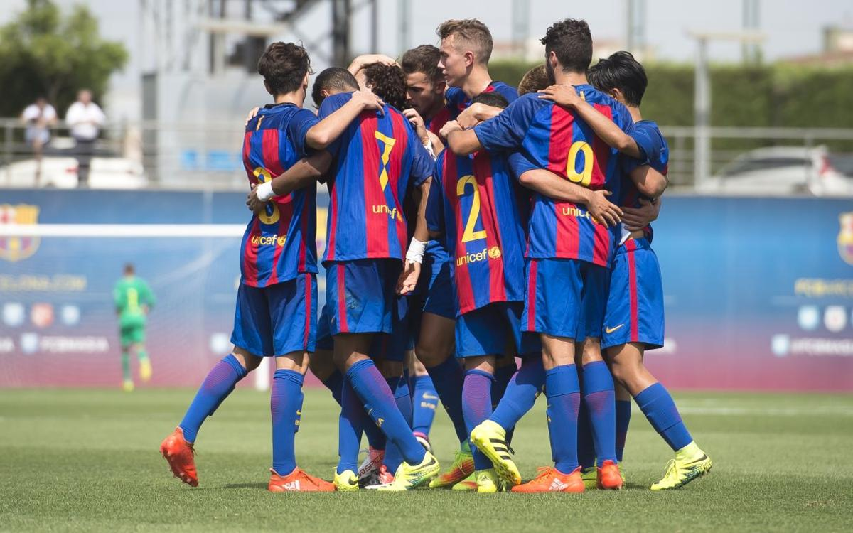 The week's top five goals from La Masia