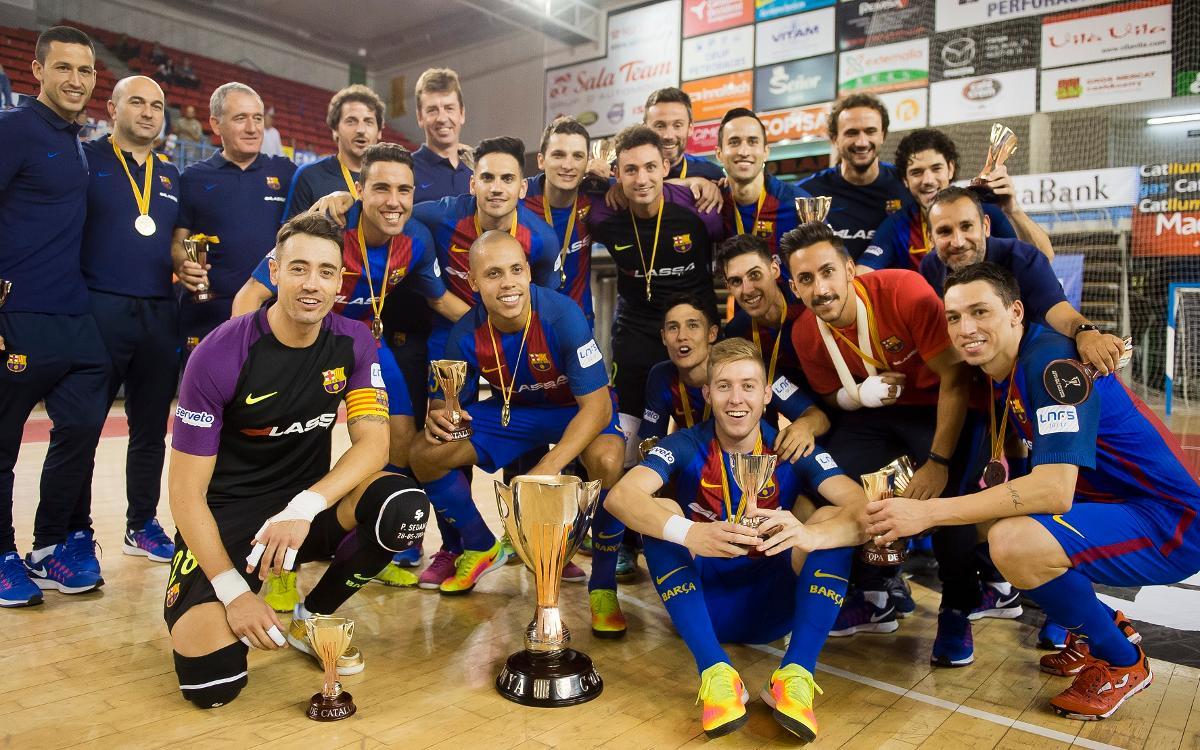 FC Barcelona Lassa v Catgas Energia Santa Coloma (6-4): Barça Crowned Champions of Catalonia