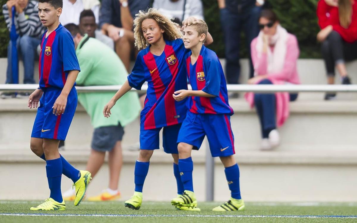 El Infantil A comienza con fuerza la Liga