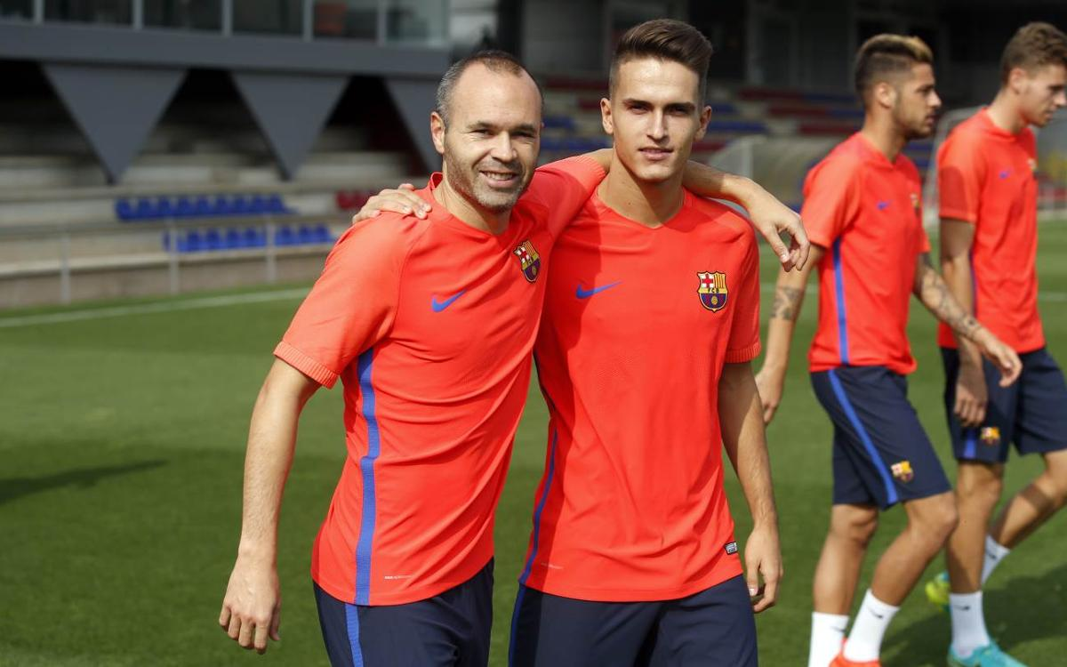 FC Barcelona train ahead of Mönchengladbach trip