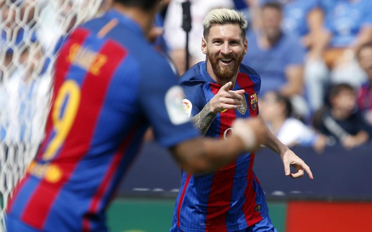 Leganés - FC Barcelone : Le trio magique vous salue! (1-5)