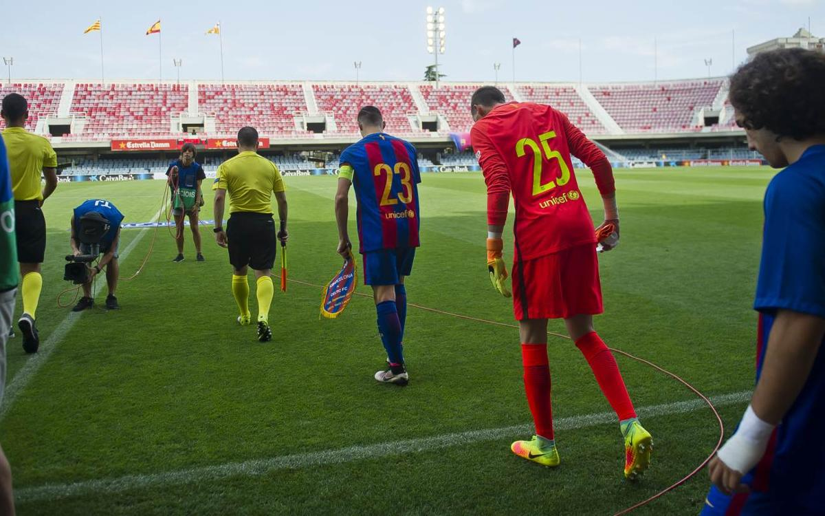 Borussia – Juvenil A: Seguir creixent a Europa