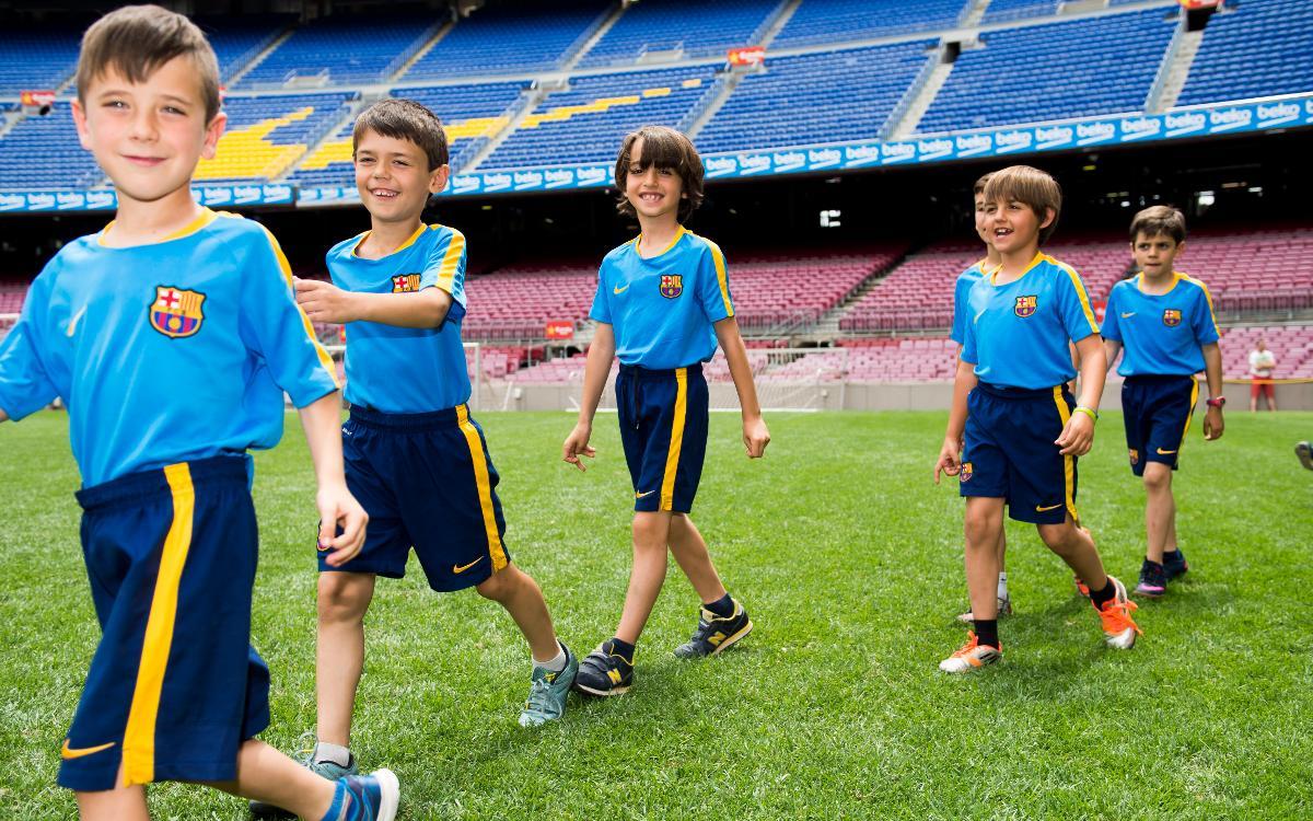 Presentación del curso FCBEscola Barcelona 2016-2017