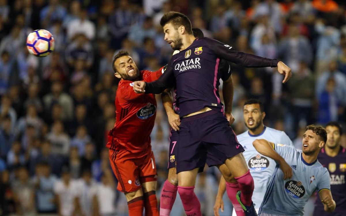 Celta Vigo v FC Barcelona: Battling Barça suffer Balaídos blues (4-3)