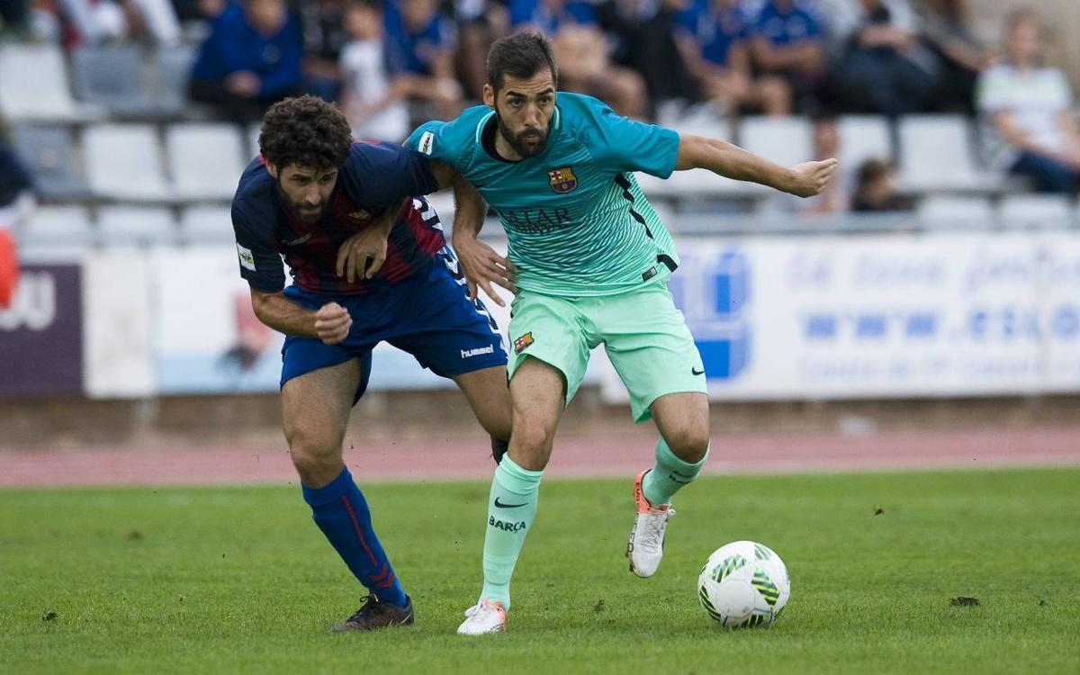 CF Gavà - FC Barcelona B: Càstig immerescut per a un Barça superior (1-0)