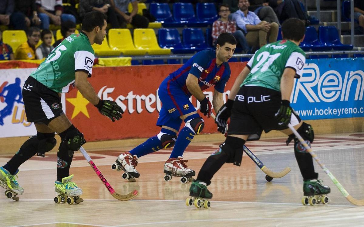 Así será el noviembre del Barça Lassa de hockey patines