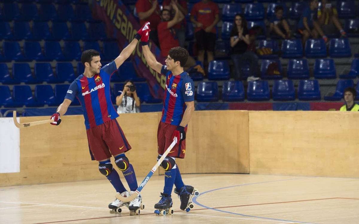 FC Barcelona Lassa – ICG Software Lleida: El Palau dóna la benvinguda amb golejada (7-0)