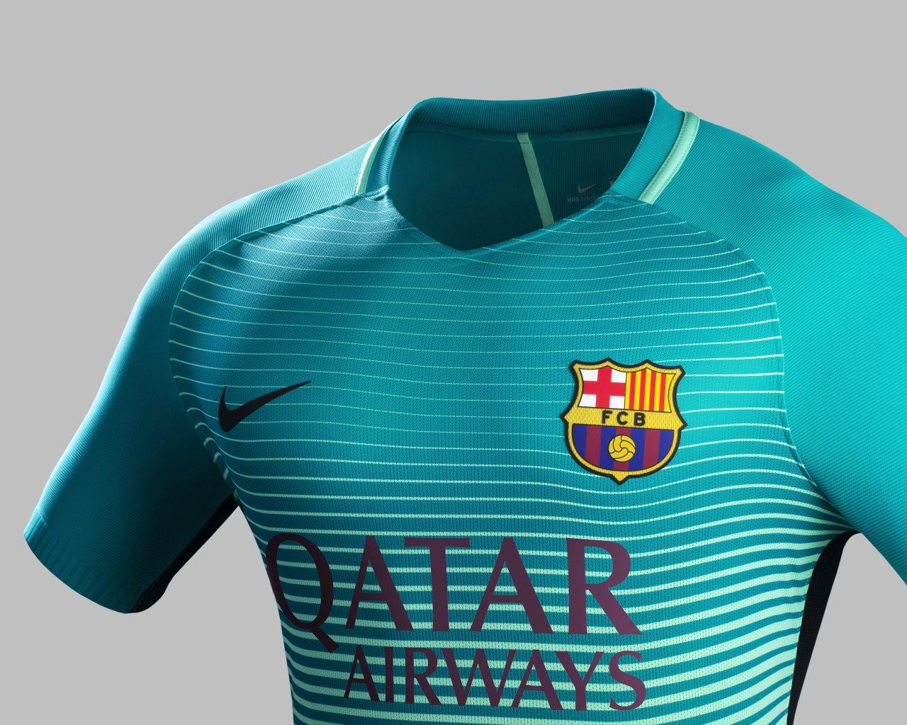 FC Barcelona will wear their third kit for the first time against ...