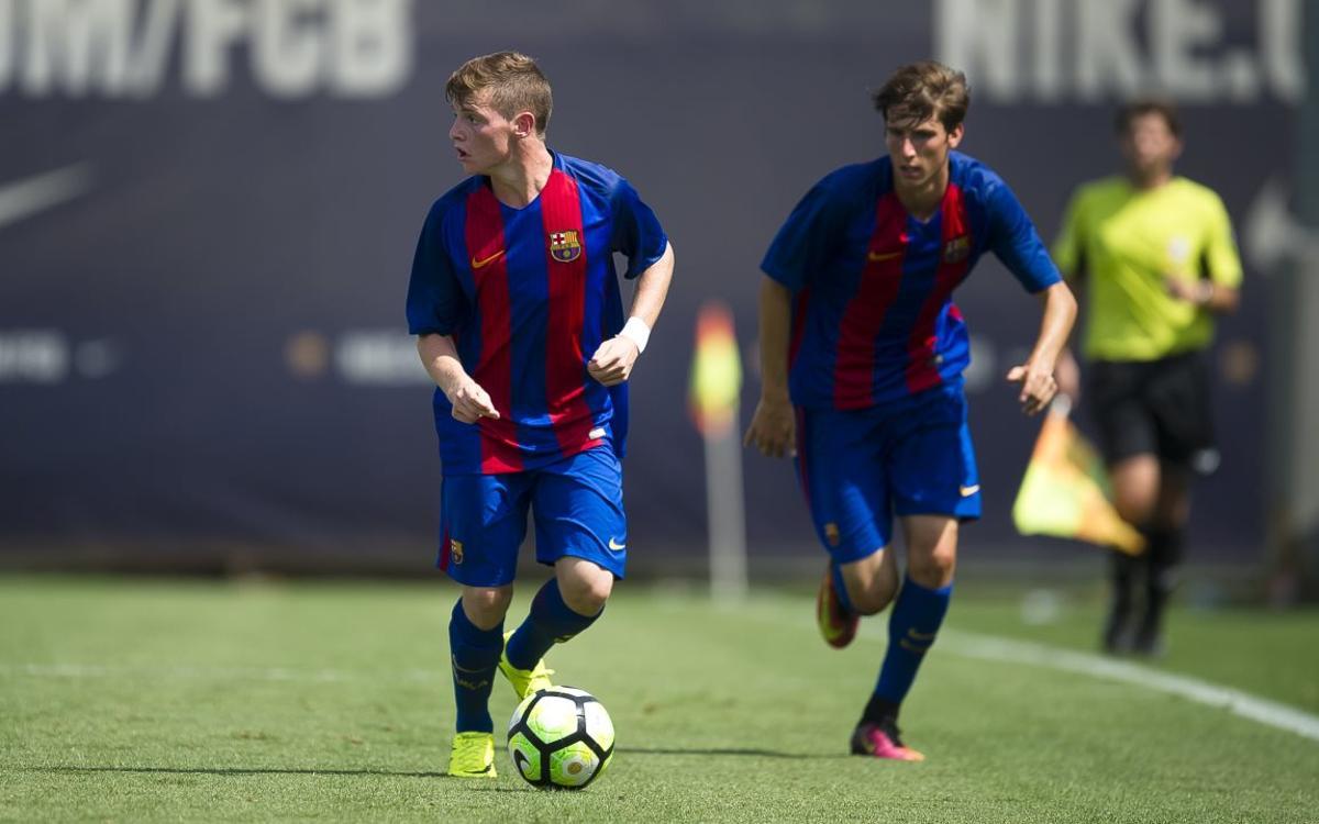 Seis del Barça en el clasificatorio para el Europeo sub17