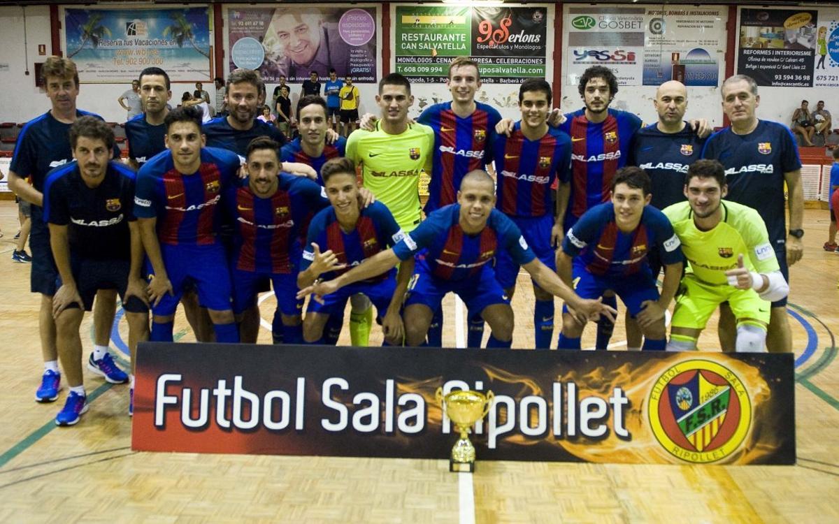 FC Barcelona Lassa – El Pozo Múrcia B: Campions de Ripollet amb molts mèrits (2-0)