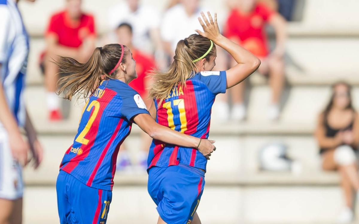 FC Barcelona Women v Real Sociedad: Three for three (2-0)