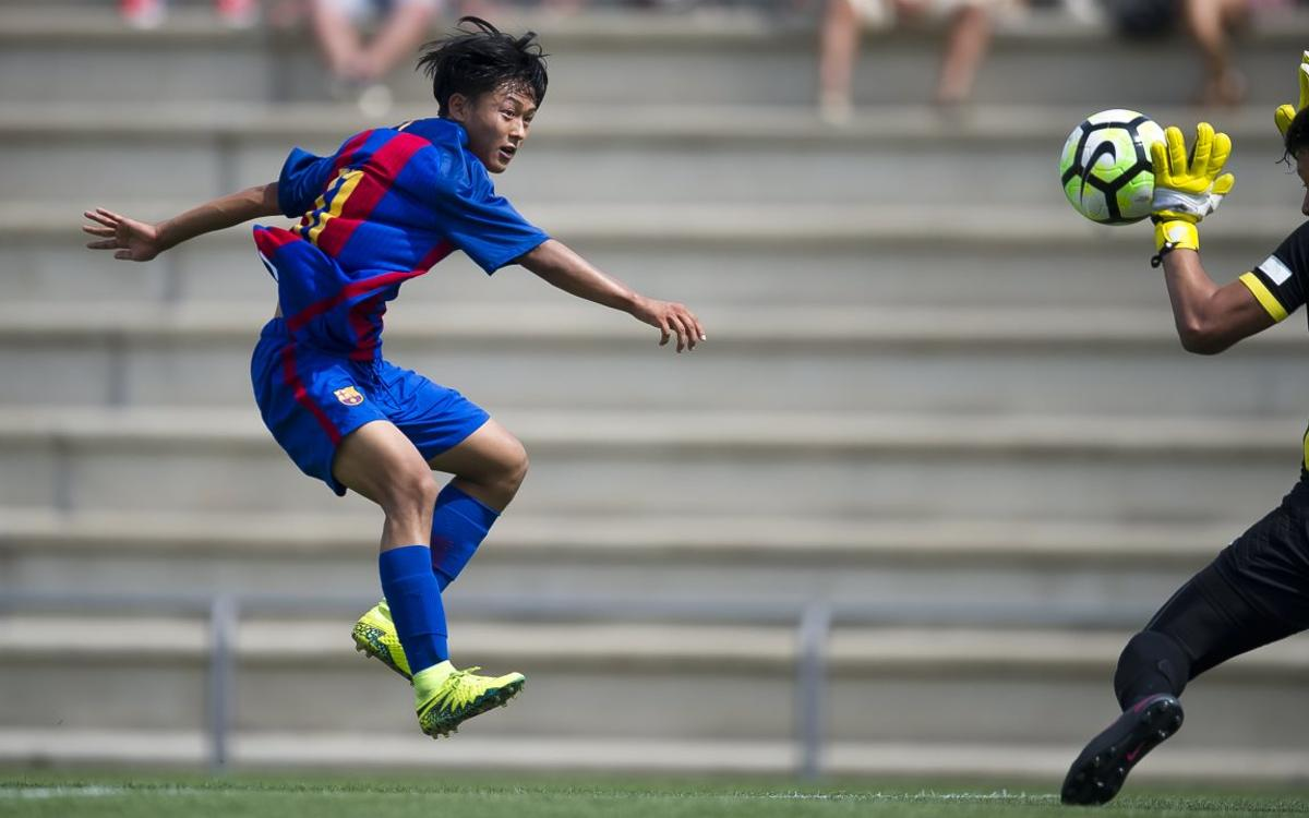 The five best goals of the week from La Masia