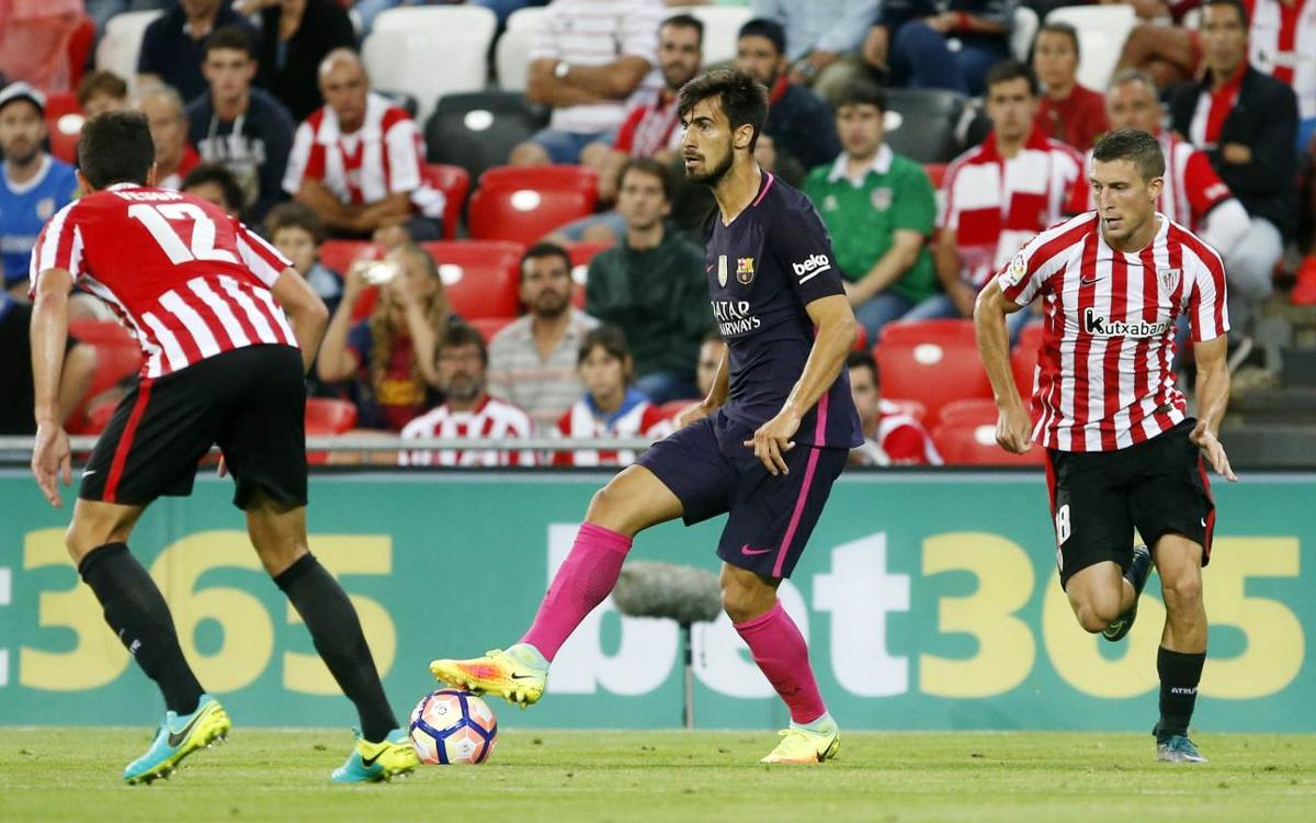 André Gomes has a muscular bruise