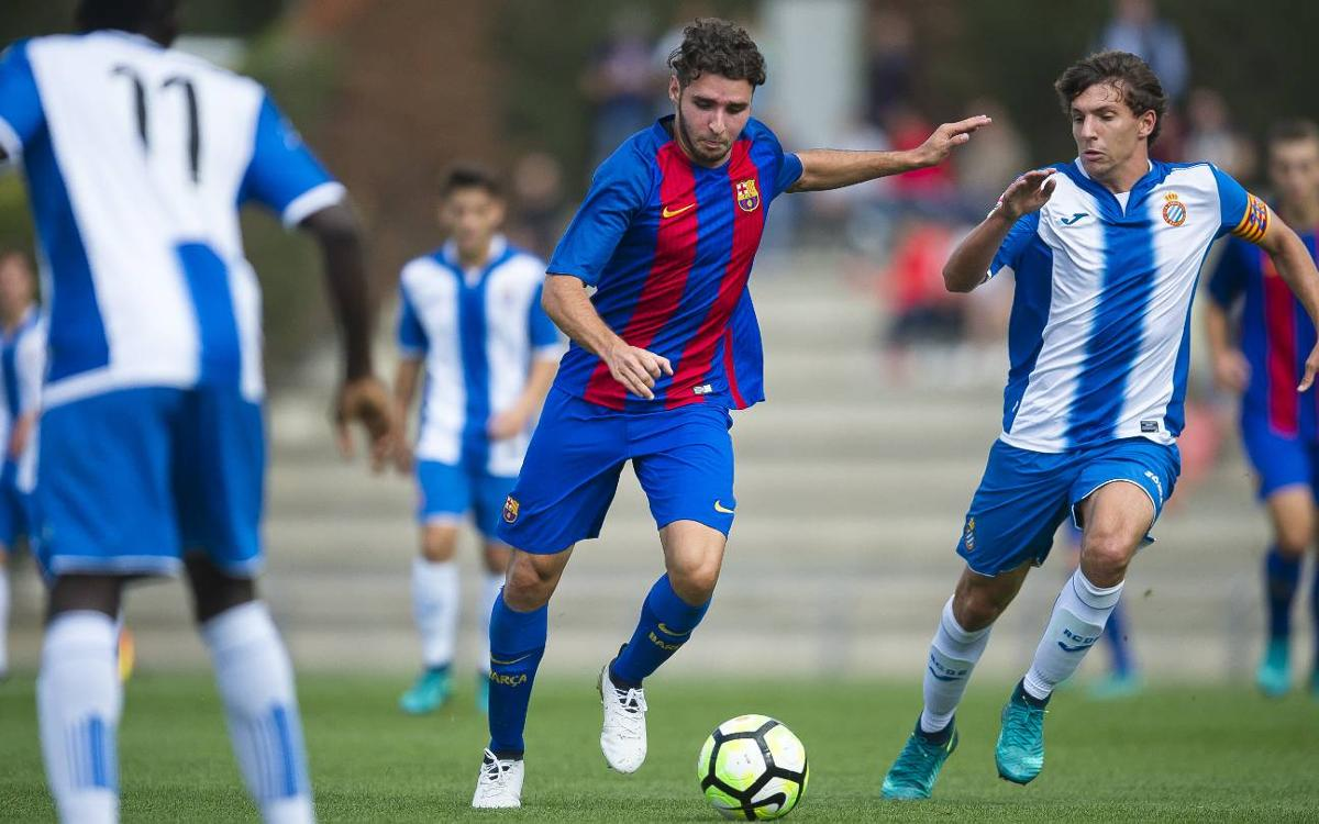 FC Barcelona U19 A and B teams both top of their leagues