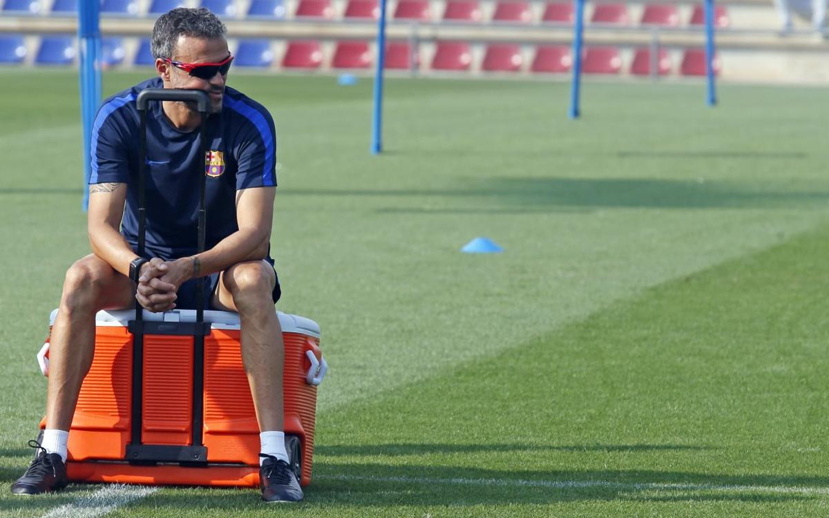 Luis Enrique expects Alavés to play deep