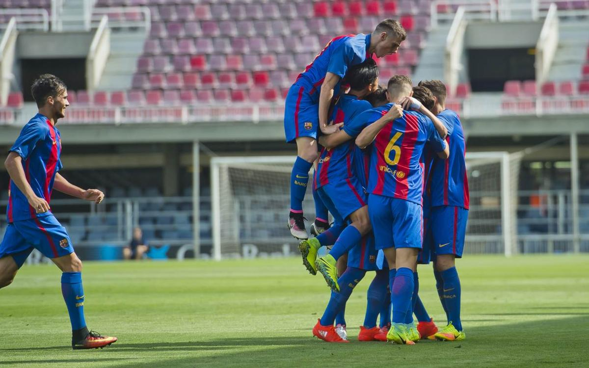 FC Barcelona U19 v Celtic: First three European points in the bag (2-1)