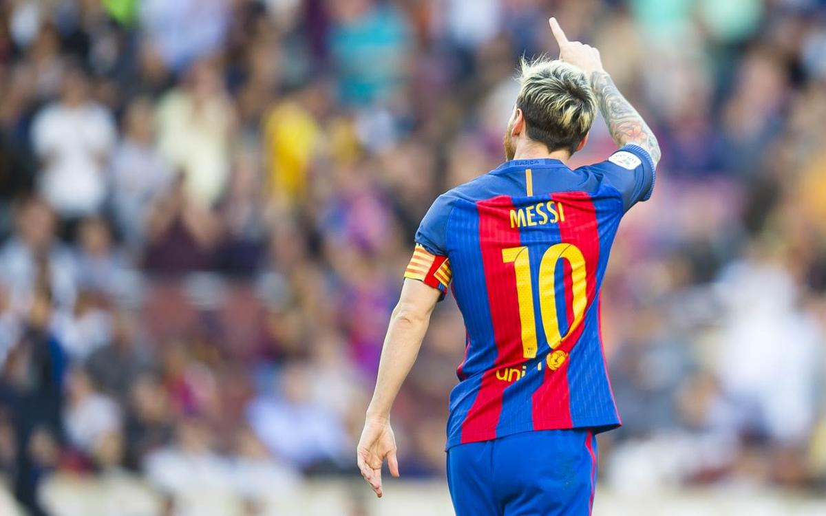 Magical Messi returns for FC Barcelona