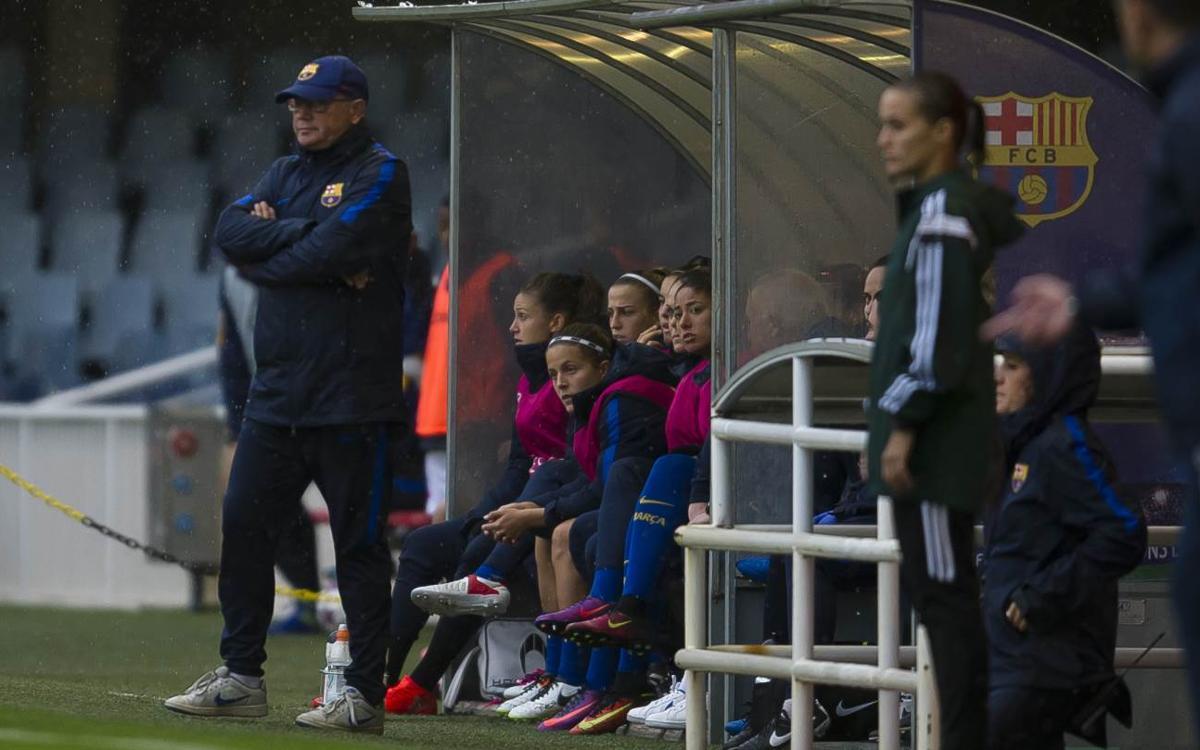 """Xavi Llorens: """"Las jugadoras han hecho un esfuerzo físico enorme"""""""