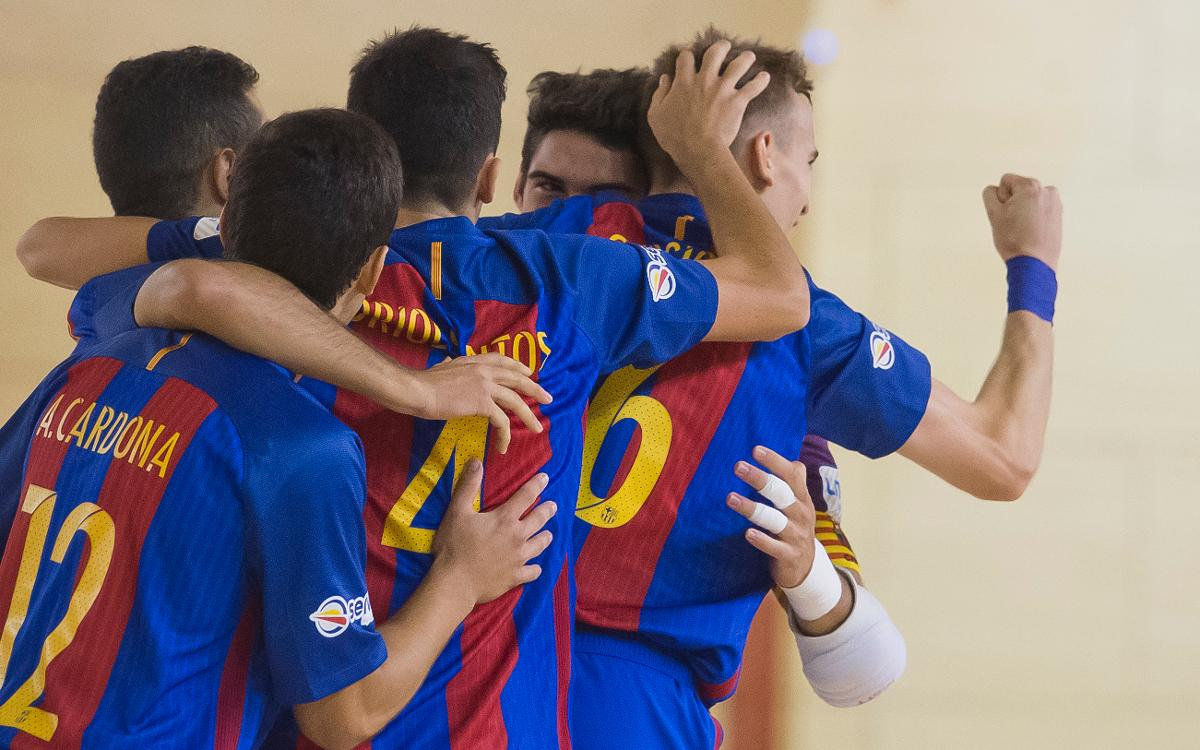Golpe de autoridad del Barça B en Murcia