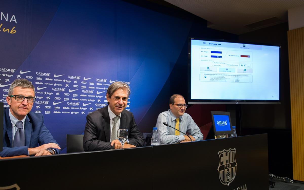 Sortejada la Llotja Oberta del Camp Nou i el Palau Blaugrana