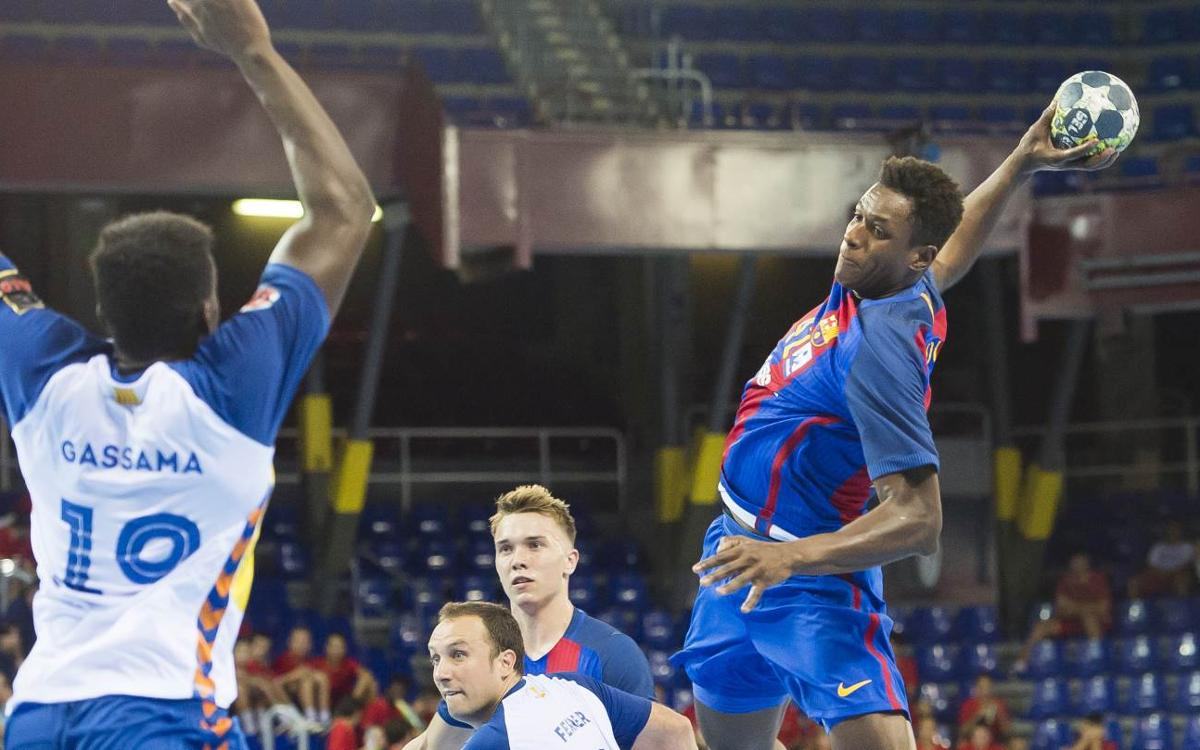 FC Barcelona v BM Granollers: Hard-fought win in league opener (37-26)