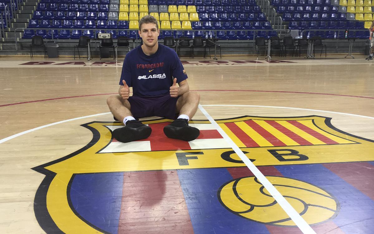 Sasha Vezenkov es reincorpora al Barça Lassa i viatjarà a Atenes