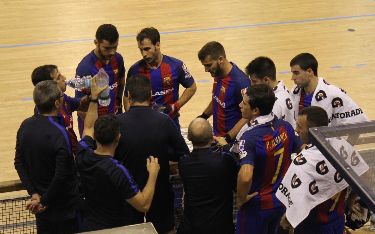 Infante de Sagres – FC Barcelona Lassa: Bon ritme de joc i tercera victòria a Portugal (2-6)