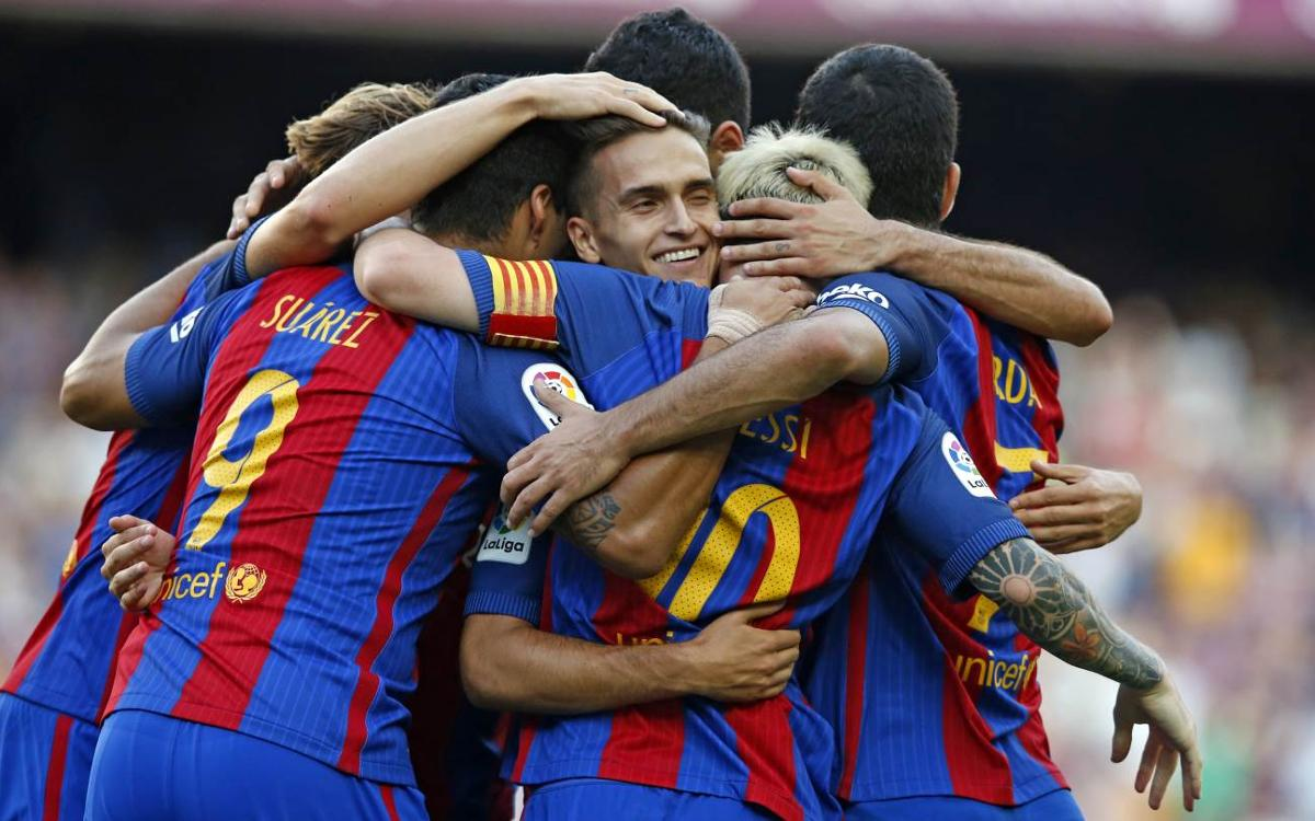 Avant-match : FC Barcelone – Alavès