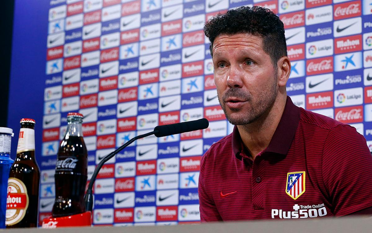 Atlético Madrid manager Diego Simeone hails 'brilliant' FC Barcelona