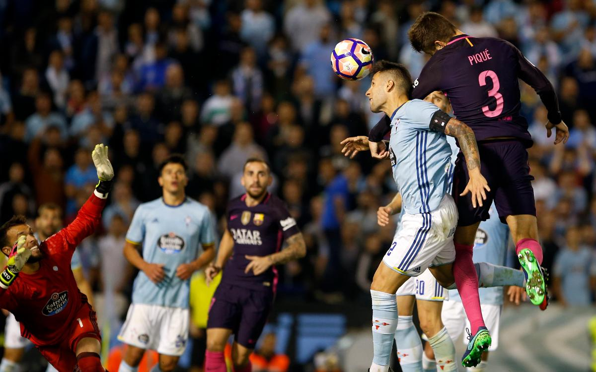 Defeat at Celta Vigo, by the numbers