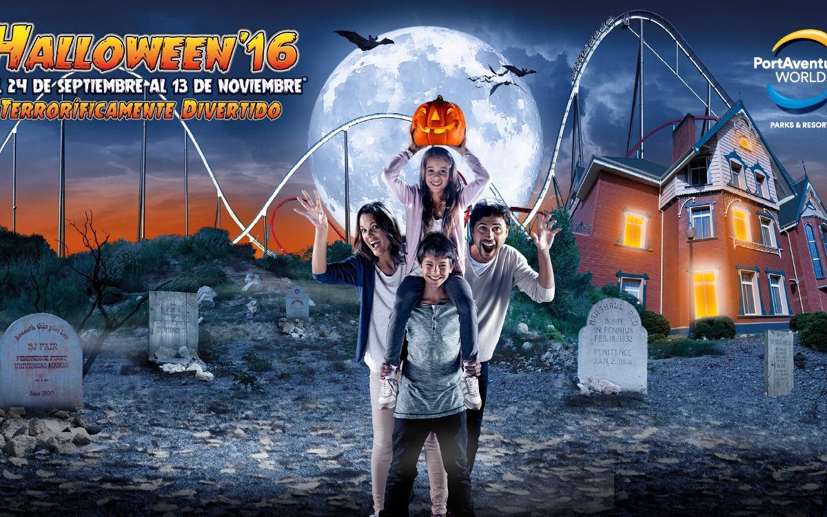 2x1 en Halloween'16 de PortAventura Park para los socios del FC Barcelona