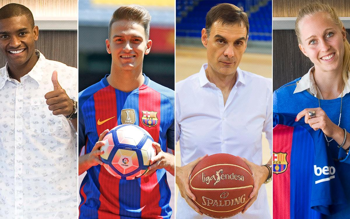 Who has joined and left FC Barcelona this summer
